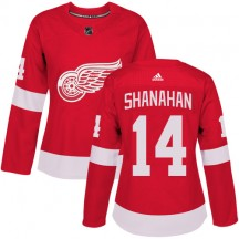 Brendan Shanahan Detroit Red Wings Adidas Women's Premier Home Jersey - Red